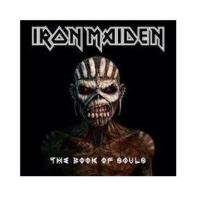 Cd Iron Maiden - The Book Of Souls - Lacrado - Frete Grátis