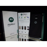Moto Z Play 3gb Ram Tapa Negra Impecable Remate