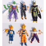 Una Figura Dragon Ball Z Goku Vegeta Trunks Gohan Articulada