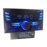 Auto Estereo Dual Cd Bluetooth Mp3 Usb Aux Control Remoto