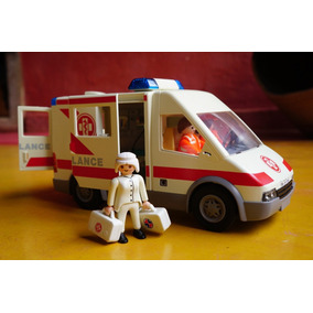 Playmobil Ambulancia Bonecas