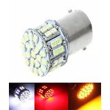 Lampada 50 Led Ba15s 1 Polo Varias Cores P21w 1156 (unidade)