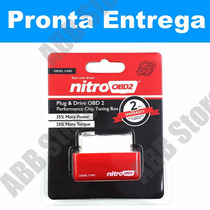 Nitro Obd2 Tunning Aumenta Potência E Torque Carro Diesel