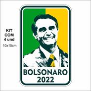 Adesivo P/ Carro - Bolsonaro 2022