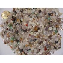 Pedras Mistas Roladas Semi Preciosas 1kg Pequenas