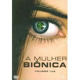 Box Dvd - A Mulher Biônica Vol.1 E 2 - Original Lacrado