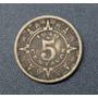 Ganga Moneda De 5 Centavos Calendario Azteca Año 1940