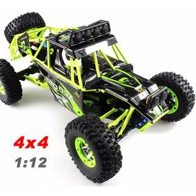 Automodelo Wltoys 12428 Off-road 4x4 Crawler C/ Iluminação!