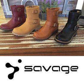 Savage Zapatos. Botas. Directo De Fábrica. Bor 150s