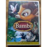 Nuevo Dvd Bambi Disney Español Ingles Disney 2 Discos