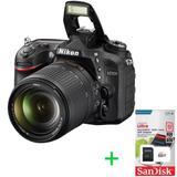 Nikon D7200 Kit 18-140mm Reflex 24mp Full Hd Wifi + Memo 32g