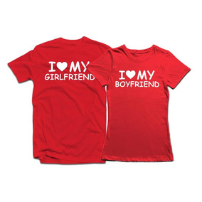 Playeras Para Parejas I Love Mi Girlfriend And Boyfriend