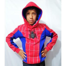 Sudadera Batman Niño Niña Bordado Spiderman Hombre Araña