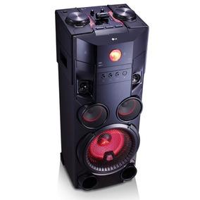 Caixa De Som Lg Om7560 Bluetooth Dual Usb Efeitos Dj 1.000 W