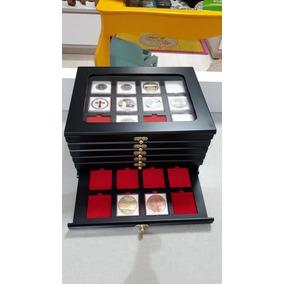 Porta Moeda Album Coleção Capsula Quadrum 5cm X 5cm Quadrada