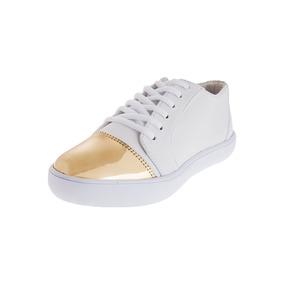 Zapato Mujer Tellenzi 1507 Punta Dorada