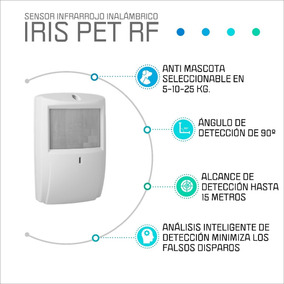 Sensor Movimiento Iris Pet-rf Inalambrico Marshall