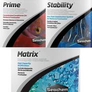 Kit Inicio Principante Acuarios Prime + Stability + Matrix