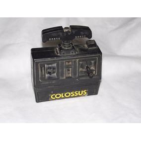 Radio Controle P/ Colossus Estrela Brinquedo Antigo Leia!