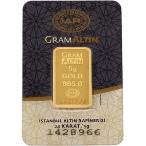 Lingote De Oro 5 Gramos De 24 Kilates Oro Fino Gramaltin