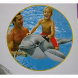 Delfin Grande Flotador Inflable Intex Piscina Mar Promocion