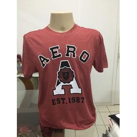 Camisa Aeropostale Vermelha Xl/gg