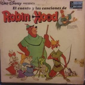 Walt Disney Robin Hood Disco Vinilo Lp