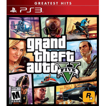 Grand Theft Auto V - Playstation 3--solo En Kiero1