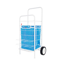 Changuito De Compras Plegable - Cuadri Azul - Violraviol -