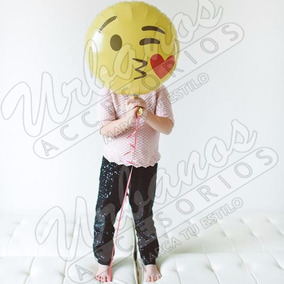 Globo Emoji San Valentin Whatsapp, 18 Pulgadas