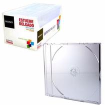 Estuche Sony 50slimct/la Plastico Transparente P/discos +c+