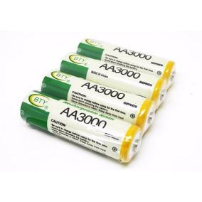 Pila Bateria Recargables Aa 3000mah Dobles A Al Mayor Detal