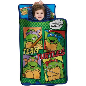 Tortugas Ninja Duro Como Una Tortuga Niño De La Siesta Mat