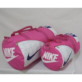 Kit 2 Bolsa Mochila Feminia Masculina Nike Grande E Pequena