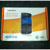 Caja Blackberry Bold 2 9700 At&t Manuales Y Cd Negociable