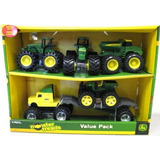 Set De Tractores Camion Semi Juguete John Deere