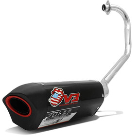 Escapamento Moto Pro Tork V3 Titan 150 Fan 150 Es Esd 2014
