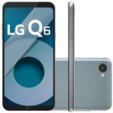 Smartphone Lg Q6 Lgm700tv Platinum 32gb 5,5 Dual Chip Octa