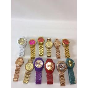 Reloj De Dama Metal Mk 12 Pzas A Un Super Precio!!!