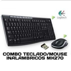 Kit Teclado Y Mouse Logitech Mk270 Inalámbrico Ñ