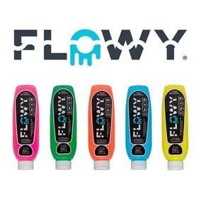 Pintura Flowy Fluorescente Pintura Que Brilla Eventos Fiesta
