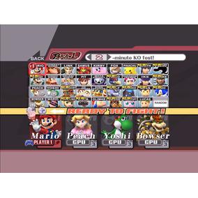 Jogo Novo Lacrado Super Smash Bros Brawl Para Wii