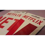 Tarjeta Giftcard Netflix 4k Hd Bastante Duración