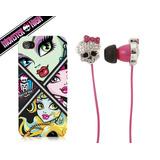 Capa Iphone 5 E 5s + Earbuds Monster High 100% Original