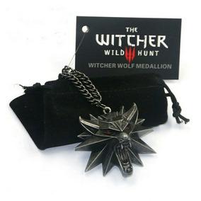 The Witcher 3 Collar Envio Gratis Jinx Original Medallon Red