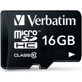 Memoria 16g Micro Sdc10 44082 Verbatim