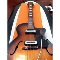 Guitarra Egmond Modelo Kansas 1962 Vintage