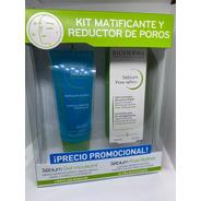 Bioderma Kit Sebium Pore Refiner 30ml + Gel Moussant 100ml