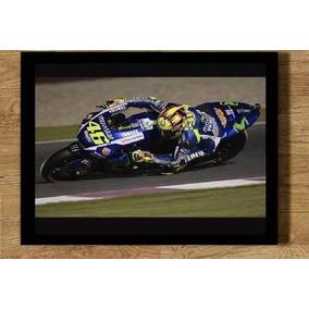 Quadro Valentino Rossi #46 Moto Gp Motogp 21x30cm