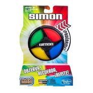 Simon Micro Series Juego De Memoria Hasbro Original